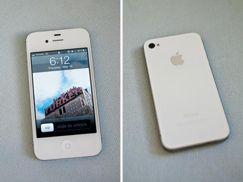 Iphone4 white